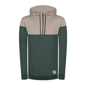 Mountain Active Kapuzenpullover Lyocell (TENCEL) Grün - bleed