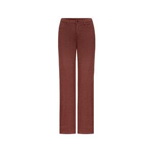 Retrotastic Jeans Damen Rot - bleed