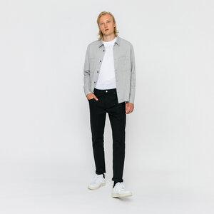 Flanell Hemd grau - Rotholz