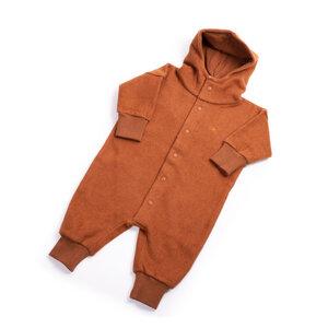 Baby Fleece Overall aus 100% Bio-Baumwolle - soki