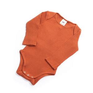 soki Baby Body aus Bio-Baumwoll Rib - soki