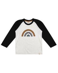 Regenbogen Raglan Shirt | GOTS | Turtledove London - Turtledove London