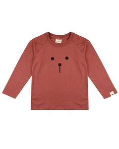 Brown Bear Raglan Shirt | GOTS | Turtledove London - Turtledove London
