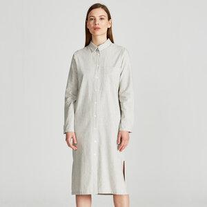 Hemdblusenkleid DEMI aus Bio-Baumwolle - stoffbruch