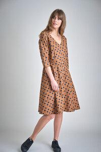 Liza Dotty Swing Dress - bibico