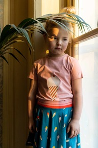T-Shirt mit Waffeleis - Baba Babywear