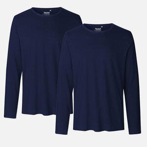 Neutral Doppelpack Long Sleeve Shirt - Bio-Baumwolle - Neutral