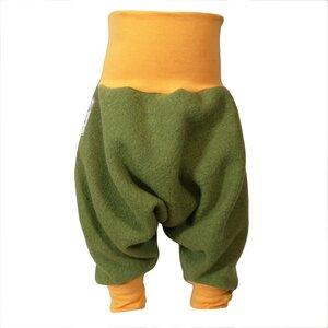 Yogahose Sarouelhose Pumphose Wolle verschiedene Farben nach Wahl - liebewicht