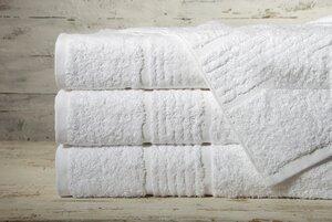 Sasso Frottier-Set, Farbe weiß, 4 Handtücher 50x100 cm + 2 Duschtücher 70x140 cm - Dibella goodtextiles