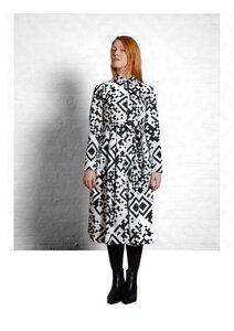 Dress Marie QR - Damenkleid aus Bio-Baumwolle - Sophia Schneider-Esleben
