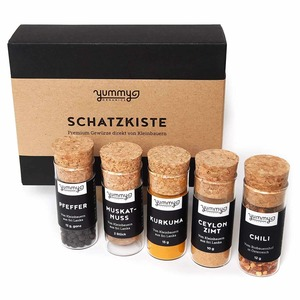 YUMMY ORGANICS Bio Gewürzbox Schatzkiste - Yummy Organics