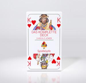 Spielkarten - Das komplette Deck - Das gendergerechte Kartendeck - Spielköpfe