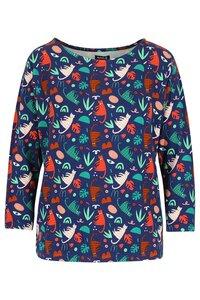 Lily Balou Frauen Bluse Langarm Shirt groovy cats green - Lily Balou