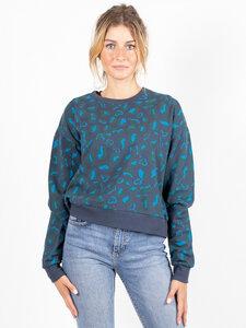 Mini Sweater aus Buchenholz-Faser | Animalier  - CORA happywear