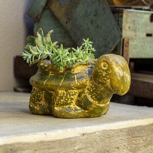 Blumentopf aus Ton Schildkröte - Mitienda Shop