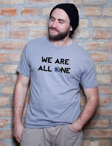 We Are All One T-Shirt - EarthPositive