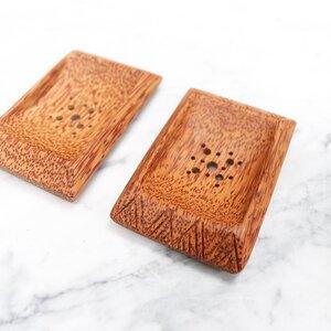Palm Wood Seifenschale  - Balu Bowls