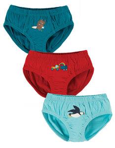 Unterhosen für Jungs in Dreierpack - Frugi