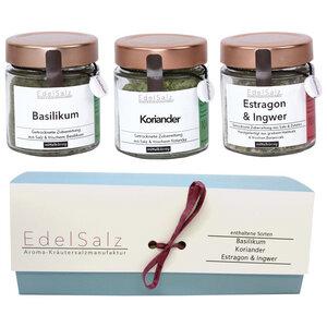"Geschenke - EdelSalz - Hochwertige Salze ""AromaSet Large"" - EdelSalz"