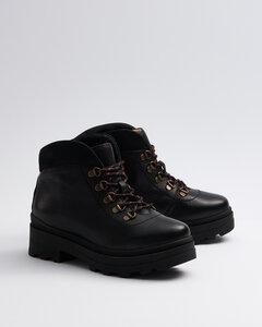 Hike Black - Wanderstiefel schwarz Damen  - Addition Sustainable Apparel