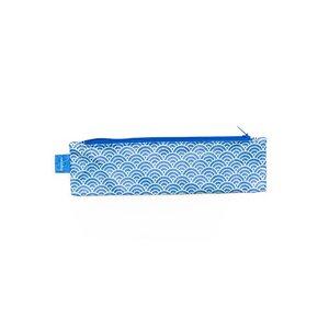 Mini-Mäppchen - Halbkreise Blau/Mint - paprcuts