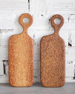 Schneidebrett aus Kokosholz mit Griff - Balu Bowls