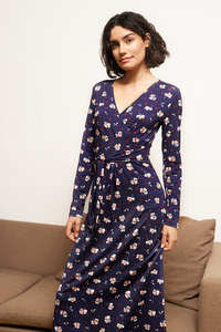 Jerseykleid Tzubaki aus Viskoseprint - ME&MAY