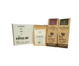 Entdeckerpaket Kräftiger Kick (ganze Bohne) - Coffee-Up!