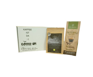 Entdeckerpaket Volles Aroma (ganze Bohne) - Coffee-Up!