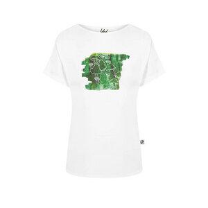Schwamma T-Shirt Damen Weiß - bleed