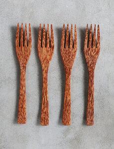 Gabel aus Kokosholz  - Balu Bowls