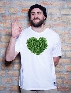 Gruenes Herz T-Shirt - EarthPositive