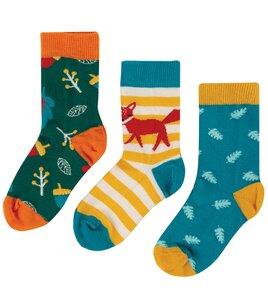 Kinder Socken 3er-Pack - Frugi