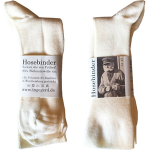 Socken - gestrickt in Süddeutschland - Hosebinder