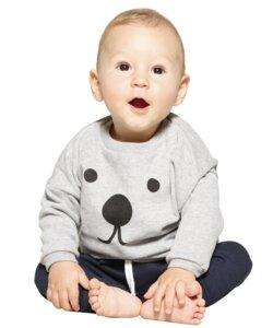Bio-Baumwoll-Sweatshirt Suli   Eye  - CORA happywear
