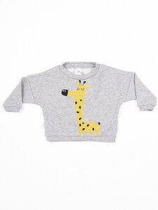 Bio-Baumwoll-Sweatshirt Suli | Giraffe   - CORA happywear