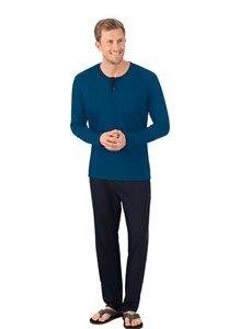 Bequemer Schlafanzug aus Bio-Baumwolle (kbA) - Trigema
