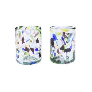 Terrazzo Glas 2er Set - nandi