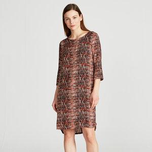 Kleid FREYA mit Print aus Viskose (ECOVERO) - stoffbruch
