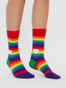 Rainbow Socken Bio GOTS |Bunte Socken |Herren Damen Socken | Funny Socks - Natural Vibes