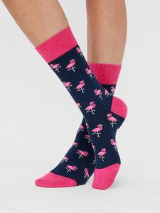 Flamingos Socken Bio GOTS |Bunte Socken |Herren Damen Socken | Funny Socks - Natural Vibes