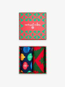 Christmas Geschenkboxen Socken Edition Bio GOTS | Herren Damen - Natural Vibes