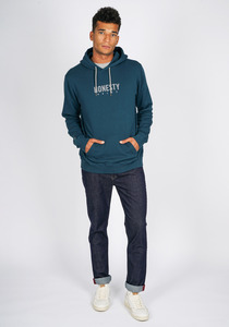 Logo Basic Hooded Sweat - Honesty Rules
