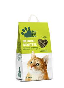 Haustiere Bio-Streu aus Sägemehl und Heu-Biomasse - Eco Pet Box