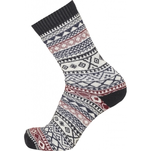 ACACIA Pattern 1-Pack Wollsocken - GOTS - KnowledgeCotton Apparel