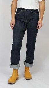Dunkelblaue gerade 5 Pocket Jeans - bloomers