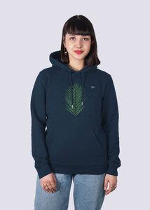 Damen Premium Hoodie Strand Palme aus Bio-Baumwolle - vis wear