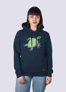 Damen Premium Hoodie Schildkröte aus Bio-Baumwolle - vis wear