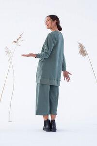 Kleid - Asago Jumper Dress - Laurel Grün  - Suite 13