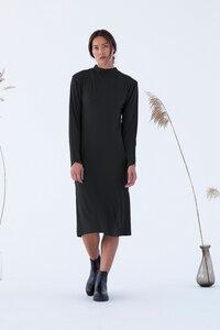 Kleid - ECOVERO Ena Dress - Schwarz - Suite 13